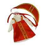 Русский народный костюм на куклу