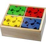 Счетный материал ГРИБЫ в коробке