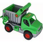 Автомобиль-самосвал зелёный КОНСТРАК (в коробке)