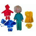 Кукла дидактическая 4 сезона, 40 см.