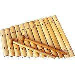 Ксилофон деревянный, неокрашенный. 12 тонов, тип 1